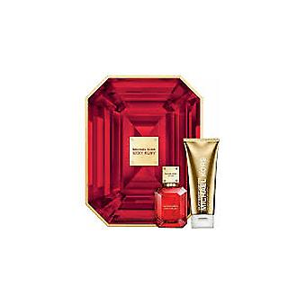 Michael Kors Sexy rubino Gift Set 50 ml EDP + lozione per il corpo 100ml