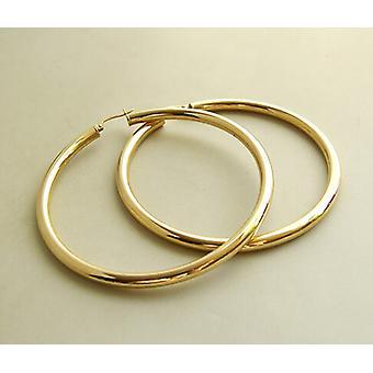 Christian 14 carat gold Creoles