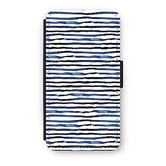 Samsung Galaxy S6 Flip Case - Surprising lines