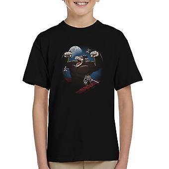 Angrep på Titan Oozaru Dragon Ball Z blanding Kids t-skjorte