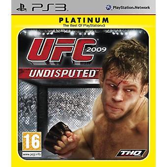 UFC 2009 Undisputed - Platinum editie (PS3)