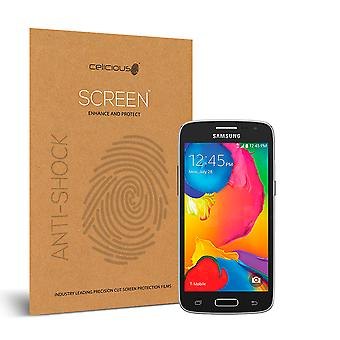 Celicious Impact Anti-Shock Shatterproof Screen Protector Film Compatible with Samsung Galaxy Avant
