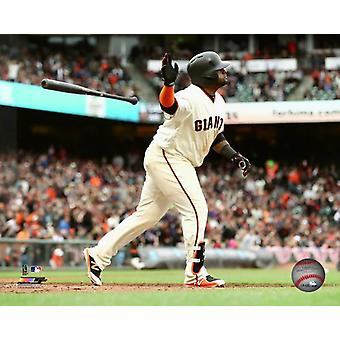 Pablo Sandoval 2018 Action Photo Print