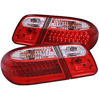 Anzo USA 321114 Mercedes-Benz Red/Clear G2 LED Tail Light Assembly - (Sold in Pairs)