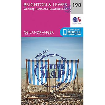 Brighton Lewes Haywards Heath av Ordnance Survey