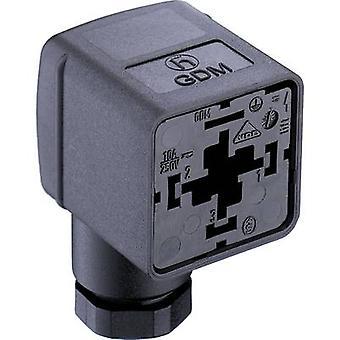 Valve Plug GDM 2106 Black GDM2106 Number of pins:2 + PE Belden Content: 1 pc(s)