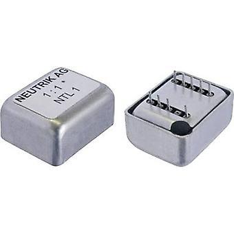 Impedance: 600 Ω NTL1 Neutrik Content: 1 pc(s)