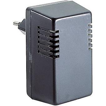Steckergehäuse 37 x 43 x 73.5 Acrylnitril-Butadien-Styrol schwarz Strapubox TYP I 1 PC