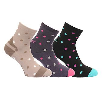 Regatta Great Outdoors Womens/Ladies Active Lifestyle Walking Socks (3 Pack)
