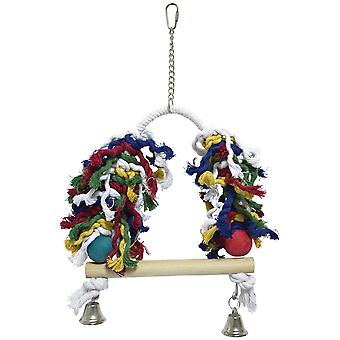 Ica Toy Color Swing with Bell (Birds , Toys)