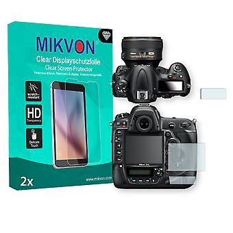 Nikon D5 Screen Protector - Mikvon Clear (Retail Package with accessories)