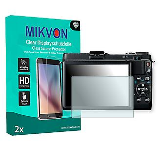 Canon PowerShot G1 X Mark II Screen Protector - Mikvon Clear (Retail Package with accessories)