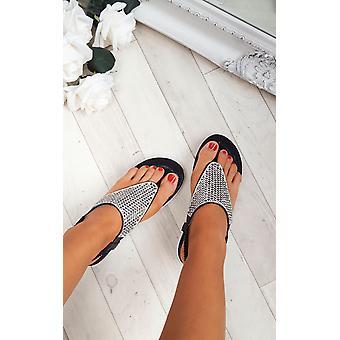 IKRUSH damskie Karley zdobiona sandały