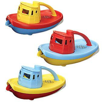 Green Toys Colourful Tugboat Bath Water Toy BPA Free 100% Recycled