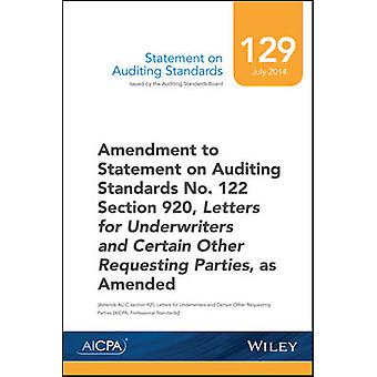 بيان بشأن معايير-مراجعة الحسابات رقم 129 من AICPA-9781941651216