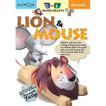 Animals Lion & Mouse by Kumon Publishing - 9781933241173 Book