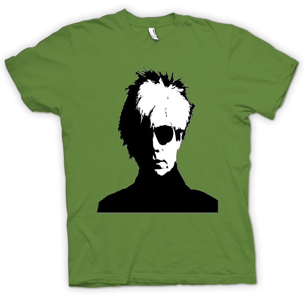 Mens T-shirt - Andy Warhol - BW - Pop Art