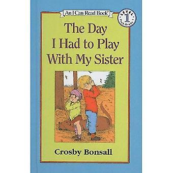 Der Tag musste ich Spiel mit meiner Schwester (meine erste kann ich Bücher lesen