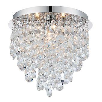 Kristen badkamer Flush plafondlamp - Endon 61233
