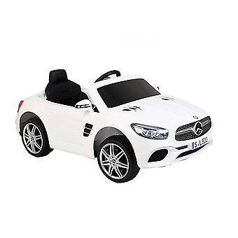 Licensed Mercedes Benz SL500 12V Electric Ride On Car White