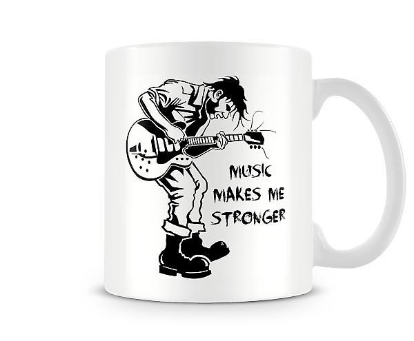 Music Makes Me Stronger Mug