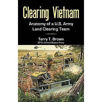 Anatomie de la Vietnam d'un US Army Land compensation équipe par Brown & T. Terry de compensation