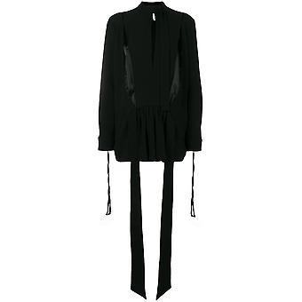 Loewe Black Cotton Blouse