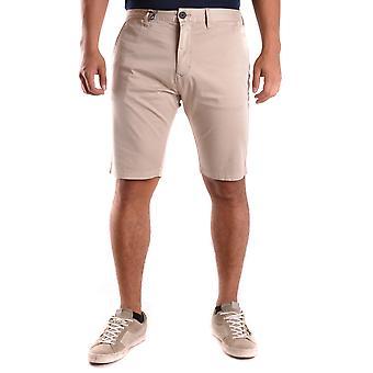 Armani Jeans Shorts de algodão bege
