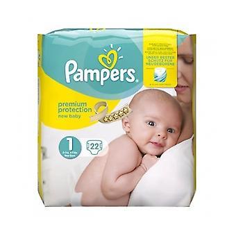 Pampers Premium Prot noworodka rozmiar 1 22S