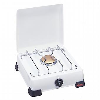 LPG gas stove. Cast iron Grill