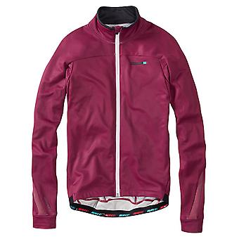 Madison Classy Burgundy 2016 Roadrace Thermal Long Sleeved Cycling Jersey