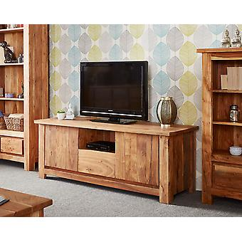Stone Acacia 2 Door 1 Drawer Plasma Unit