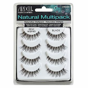 Ardell Natural multipack Demi Wispies Black 4-pack