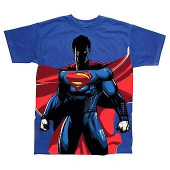 Men's Superman Standing All Over Print T-Shirt