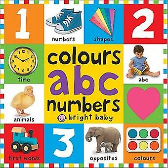 Colours ABC Numbers by Roger Priddy - 9781783412020 Book