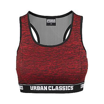 Urban Classics Women ' s bryster aktiv melange logo