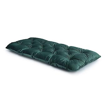 Loft 25� Luxurious Velvet Foam Crumb Tufted Single Futon Mattress - Aqua