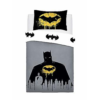 Batman Dark Knight Single Duvet Cover Set