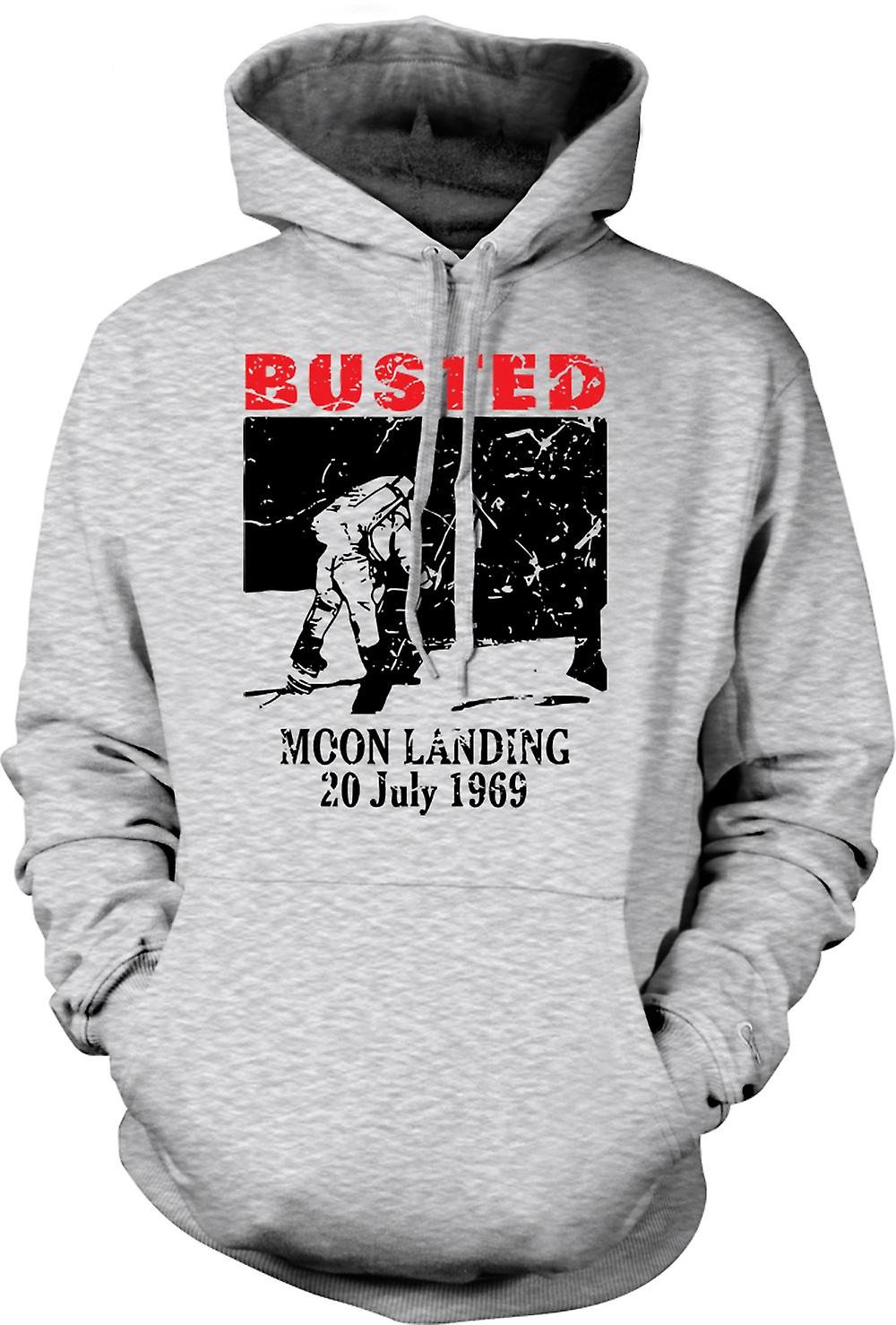 Mens Hoodie - alunissage Hoax 1969 - Conspiracy