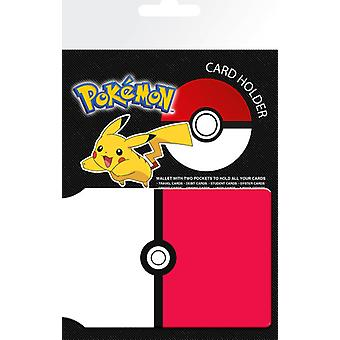 Pokemon Pokeball Travel Pass / Oyster kortholderen
