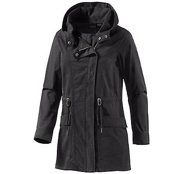 ROXY Women's Transition Jacket Light Hooded Jacket in Parka style Cover You Black