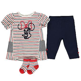 Personnage Baby Kids Girls 3 Piece Dress Set Vêtements Short Sleeve Crew Neck
