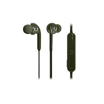 Färska ' n Rebel 3ep210ar hörlurar med mikrofon Bluetooth grön färg