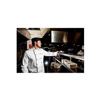 Portwest cambridge long sleeve chefs jacket c775