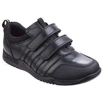 Hush valpar Boys Josh Junior läder skol skor
