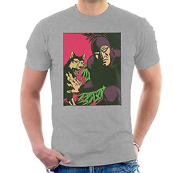 The Phantom And His Wolf Devil Men's T-Shirt