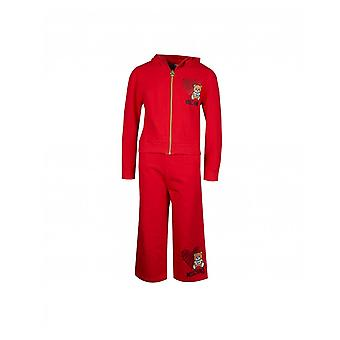 Moschino Toy Bear Hoody And Cullottes Suit