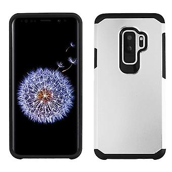 ASMYNA Silver/Black Astronoot Phone Protector Cover  for Galaxy S9 Plus