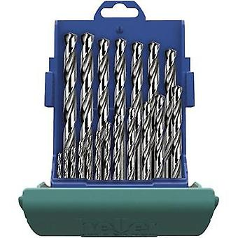 HSS Metal twist drill bit set 25-piece Heller 219