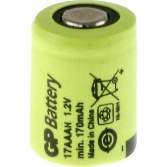 Non-standard battery (rechargeable) 1/3 AAA Flat top NiMH GP Ba